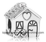 Lovely Family Home Charm Bead