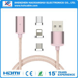 2017 Magnet USB Charging Cable for Micro USB iPhone Type C