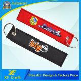 Popular Customized Fabric Keyring/Key Holder/Key Tag for Promotion Gift