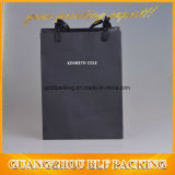 Black Shopper Bag Paper