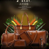 Bw1-155 Ladies Bags Set of 6 Shoulder Bag Women′s Handbags