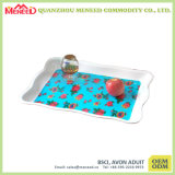 Hot Selling Custom Printed Cheap Plastic Serving Trays