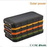 New Arrival Solar Power Bank Dual USB Powerbank 10000mAh External Battery Portable Charger