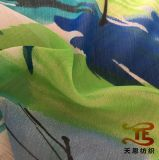 75D 100% Polyester Printing Crepe Chiffon Fabric for Women Dresses