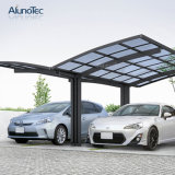 5.5mx5mx3m Waterproof Fashion Y Shape Aluminum Polycarbonate Carport