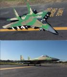 Big RC Airplane MIG-29 with Night LED Light