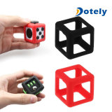 Fidget Dice Relieve Stress Anxiety Cube Toy Protective Prism Case Box