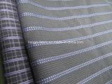 Cotton Yarn Dyed Dobby Stripe Fabric for Shirt