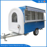 Ys-Fb200j 3.25m Blue and White Food Trucks Mobile Food Trailer