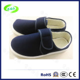 Soft Entistatic Cotton Shoes for Cleanroom (EGS-PVC-501C)