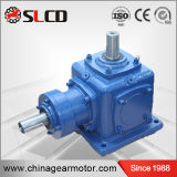1: 1 Ratio Right Angle Shaft Mounted Helical Bevel Motor Reducers