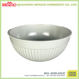 Solid White Color Melamine Mixing Bowl