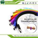 Silicone Bracelet Wristband USB 2.0 Pen Drive Stick