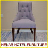 Purple Violet Hotel Dining Chair with Button (Tufted Back RS1801) for Restaurant