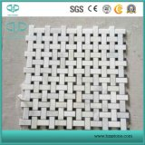 White Marble Mosaic/Glass Mosaic/Crystal White Marble/Art Mosaic for Wall Cladding/Bathroom