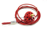 Zc-L31 Cheap Wheel Type Cable Lockout Multipurpose Cable Lock out