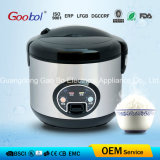 Stainless Stainless, Black Lid & Bottme Deluxe Rice Cooker