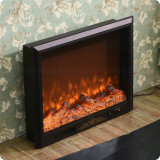 Home Furniture High Carbon Steel Electric Fireplace Heater (A-803)
