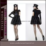 Halloween Women Police Officer Carnival Festival Cop Party Costume (TLQZ14249)