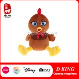 Big-Eyes Chicken Stuffed Plush Farm Animal Toy