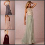 Party Cocktail Dresses Lace Tulle Bridesmaid Prom Evening Dress E2610