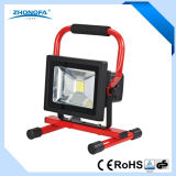 20W Rechargeable LED Work Lamp with Ce RoHS Certificates