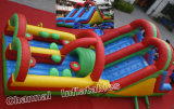 Inflatable Obstacle Course/Inflatable Combo Rainbow Obstacle Chob198