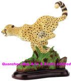 Polyresin Cheetah Statue, Resin Cheetah