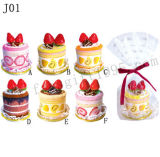 Cotton Cake Towel (J01)