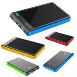 8000mAh Portable Dual USB Shockproof Solar Power Bank