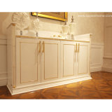Oppein White High Glossy Lacquer Sideboard (CG111043)