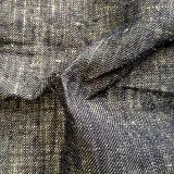 100% Nature Hemp Jean Fabric for Garment (QF13-0086)