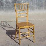 Metal Frame PP Gold Tiffany Wedding Chair