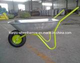 Green Gardening Painted Steel Wheel Barrow (WB5204)
