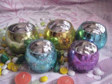 Glass Jar Candle Holder (H006) Decoration with Wholesale