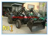 40HP 4WD New Farm Wheel Tractors with Front Loader and Backhoe