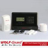 FCC/CE Certificates GSM Touchkeypad Alarm System