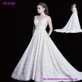 High Quality Appliqued Full Lace Wedding Dresses / Real Photos Hot Sale Wedding Dresses