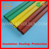 Low Voltage Red/Yellow/ Green Fireproof Bus Bar Heat Shrink Tube