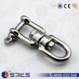 High Polished Stainless Steel Eye and Jaw European Swivel
