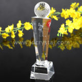 China Supply Hot Crystal Crafts Crystal Trophy Award (JD-JB-001)