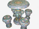 Cloisonne Table Chair Set