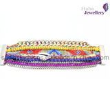 Magnet Ending Colorful Friendship Bracelet/ Friendship Wristband/Fashion Jewelry (XBL2199)