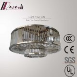 Modern Contemporary Hotel Lobby Round Crystal Pendant Lamp