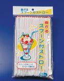 Strip Color of Flexible Straws (JY1327)