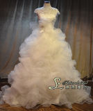 New Style Wedding Dress with Very Wang From China Wedding Dress Factory and Use Franch Lace Wedding Gown Dresses (JL1322)