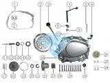 Cg125-Engine Parts Motorcycle Spare Parts
