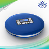 HiFi Audio CD Player Reminiscent Mini Portable CD Player with LED Display Round Multi Function Music Player