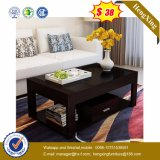 Glass Top Wooden Coffee Table Modern Living Room Furniture (UL-MFC0262)