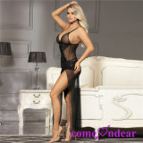 Hot Selling OEM Accepted Plus Size Black Lace Elegant Babydoll